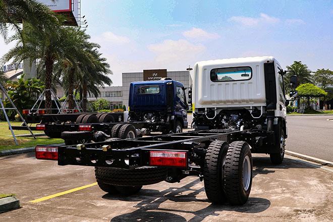 Hyundai Việt Nam ra mắt dòng xe tải Mighty EX8 GT