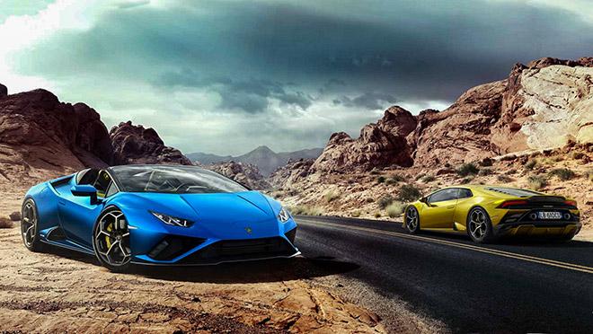 Lamborghini ra mắt phiên bản Huracan EVO Spyder RWD