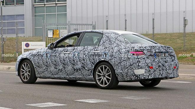 Lộ hình ảnh chạy thử của Mercedes-Benz C-Class 2021, nhiều nâng cấp mới đáng chú ý