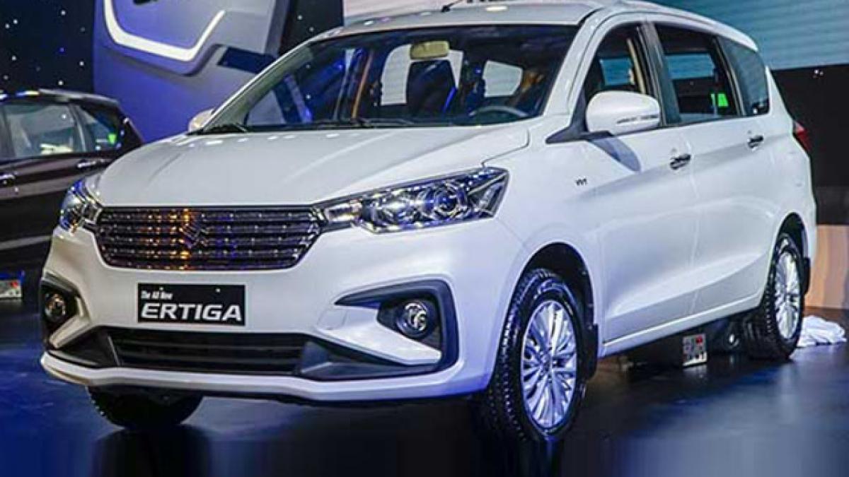 Suzuki Ertiga giảm giá lên tới 50 nhằm dọn kho xả hàng tồn