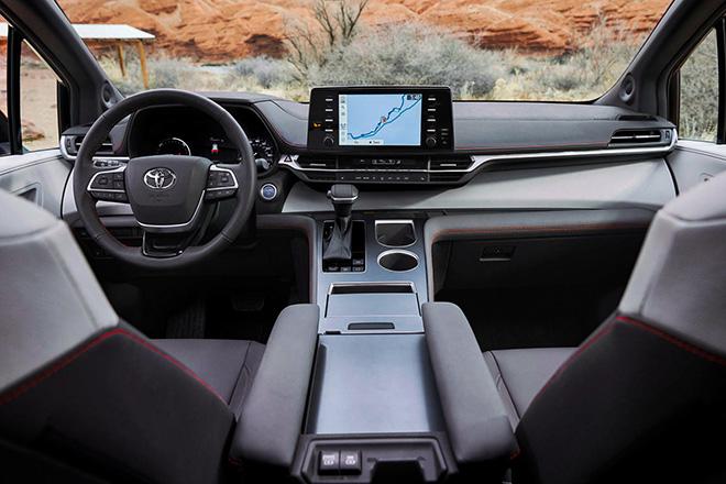 Toyota giới thiệu dòng xe MPV gia đình Sienna thế hệ mới